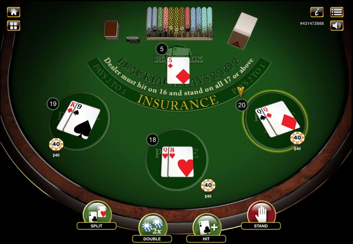 Blackjack Split 1