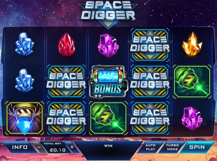 Slot Example Space Digger