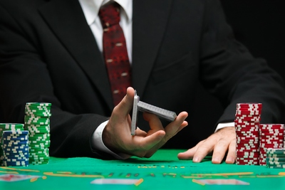 Gambler Splitting Deck
