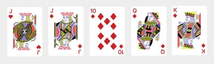 Video Poker Hand 3