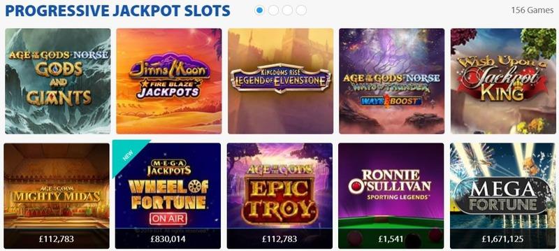 BGO Jackpots