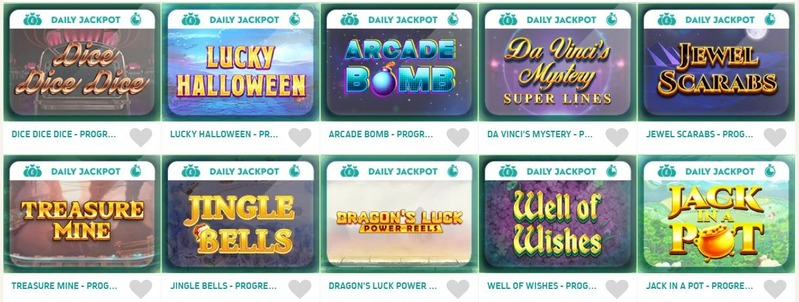 Spin and Win Jackpots